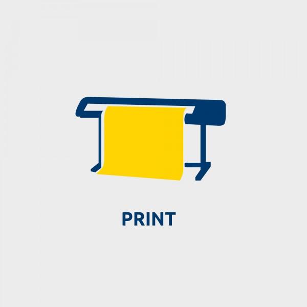 Stampa su pvc backlight- monofacciale A4 verticale